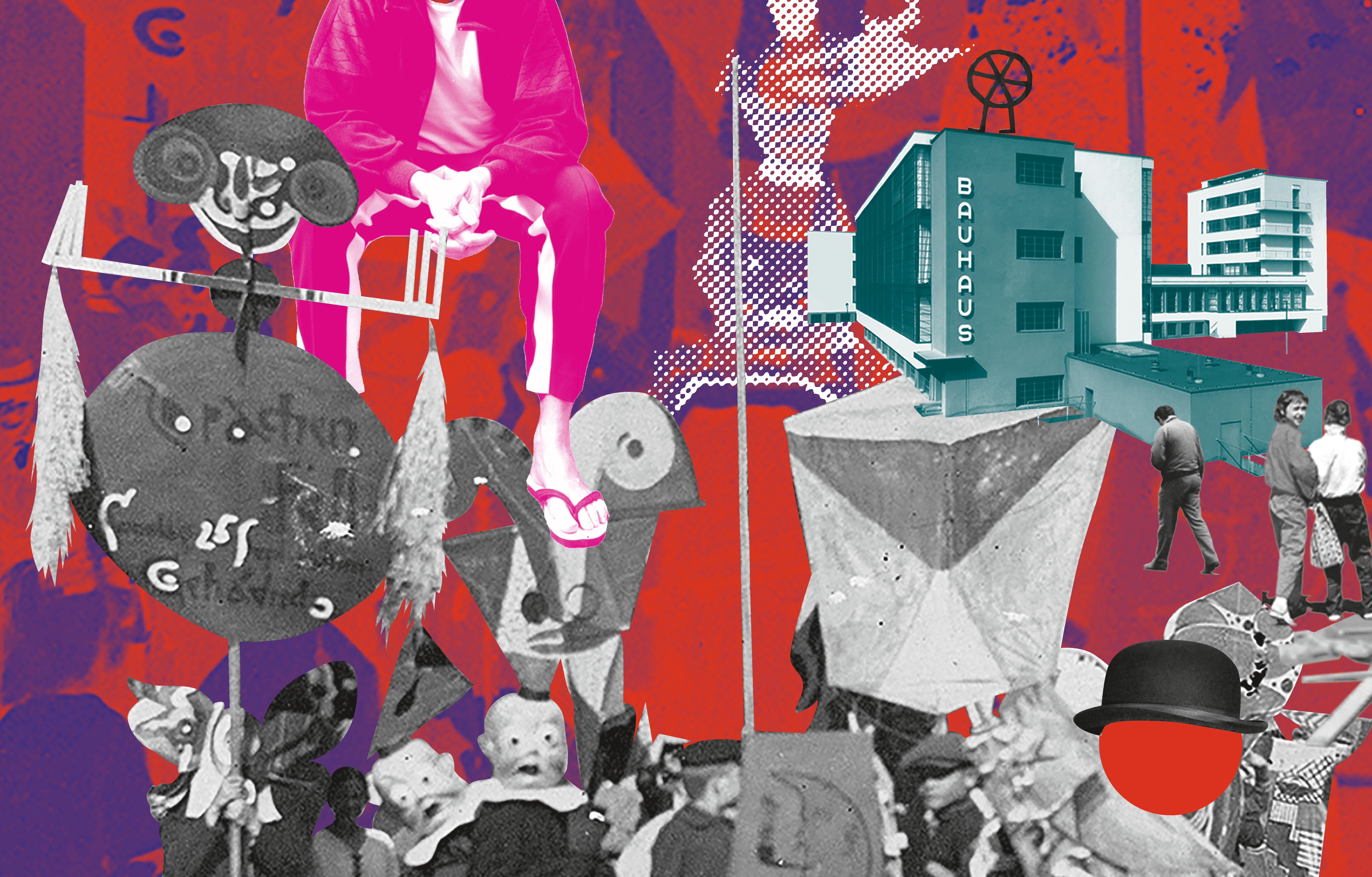 Bauhaus Requiem, Collage – dataholic/Tobias Steinert