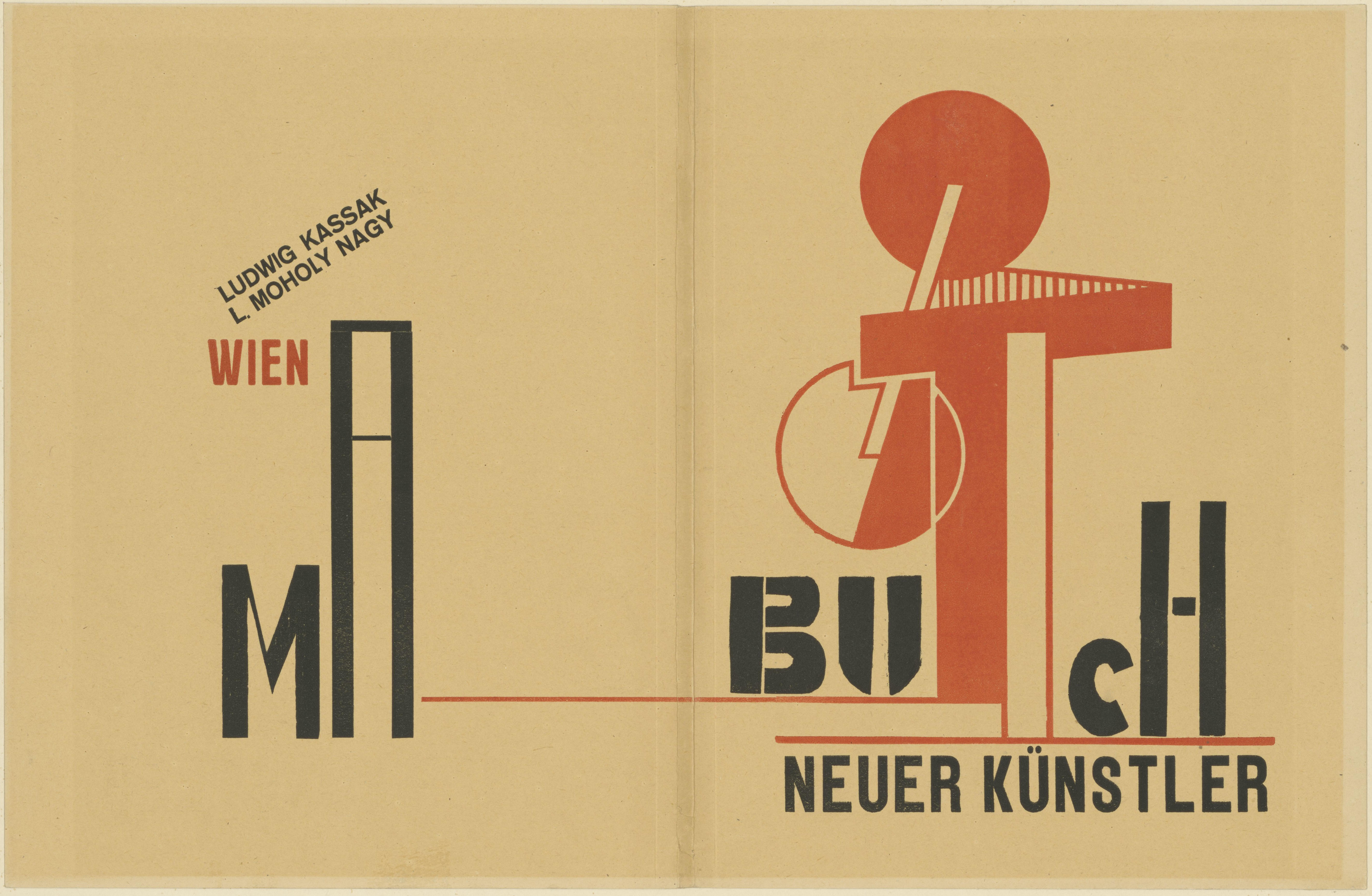 László Moholy-Nagy, Wohin geht die typographische Entwicklung, Tafel 9, Collage, 1929 © Kunstbibliothek, Staatliche Museen zu Berlin