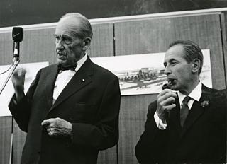 Walter Gropius & Philip Rosenthal © rosenthal.de