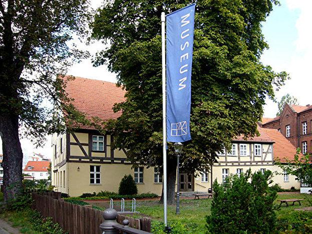 Altes Fachwerkshaus mit Museum Köpenick