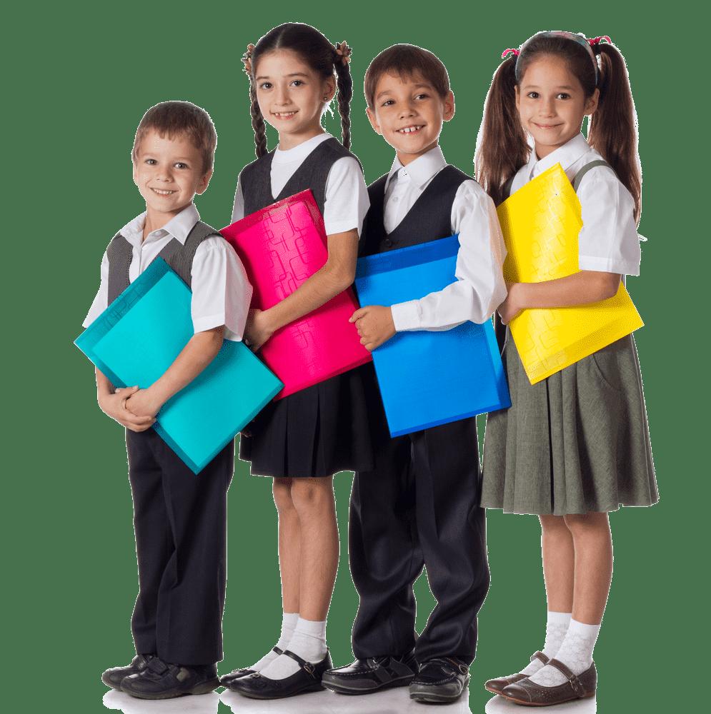 photo of children wearing Hartland Hoodies