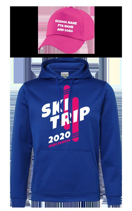 Ski trip hoodie