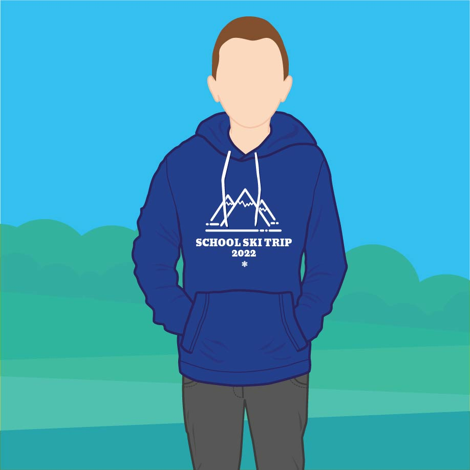 Charity promotional clothing