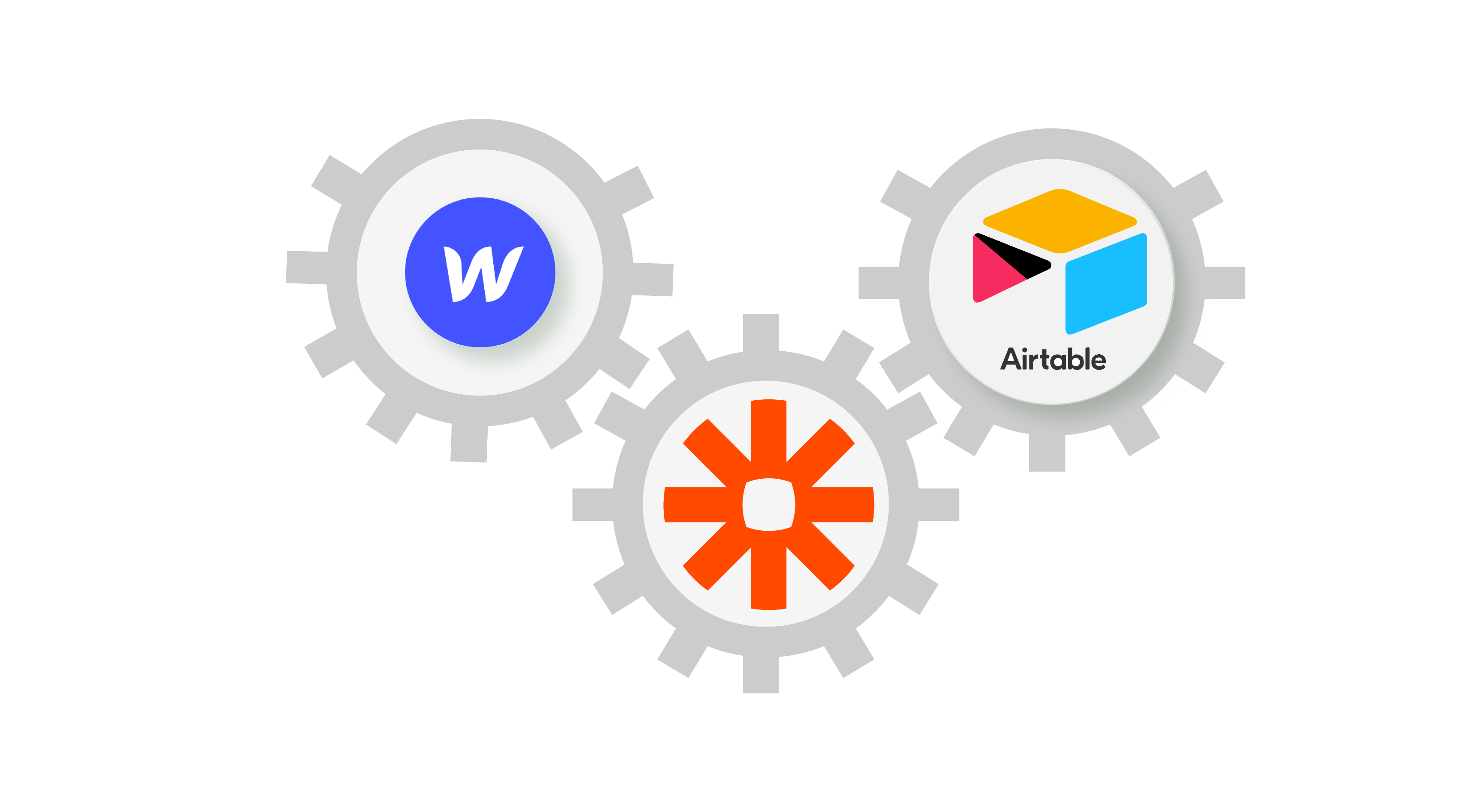 By connecting different apps we can create a workflow that gives you extra time to grow your business. All because of Zapier.
