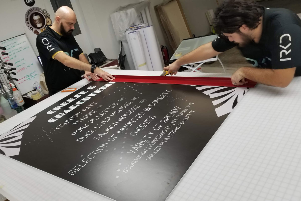 Professional Wall Graphic Installation