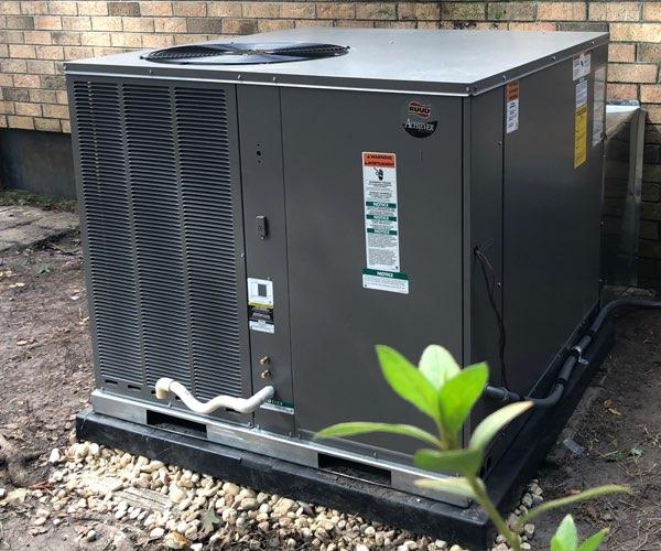 ruud 3-ton heat pump system
