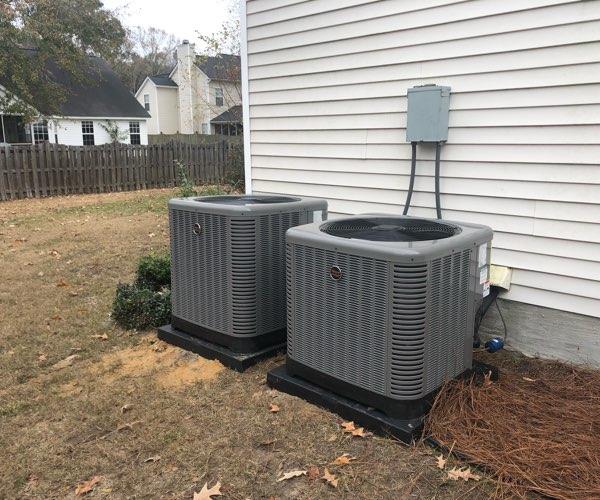 heat pump system installation