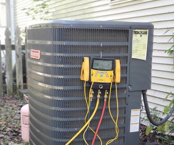 goose creek refrigerant leak repair