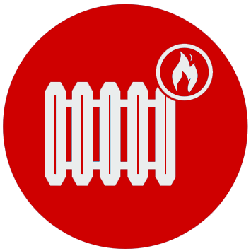 heating installation icon