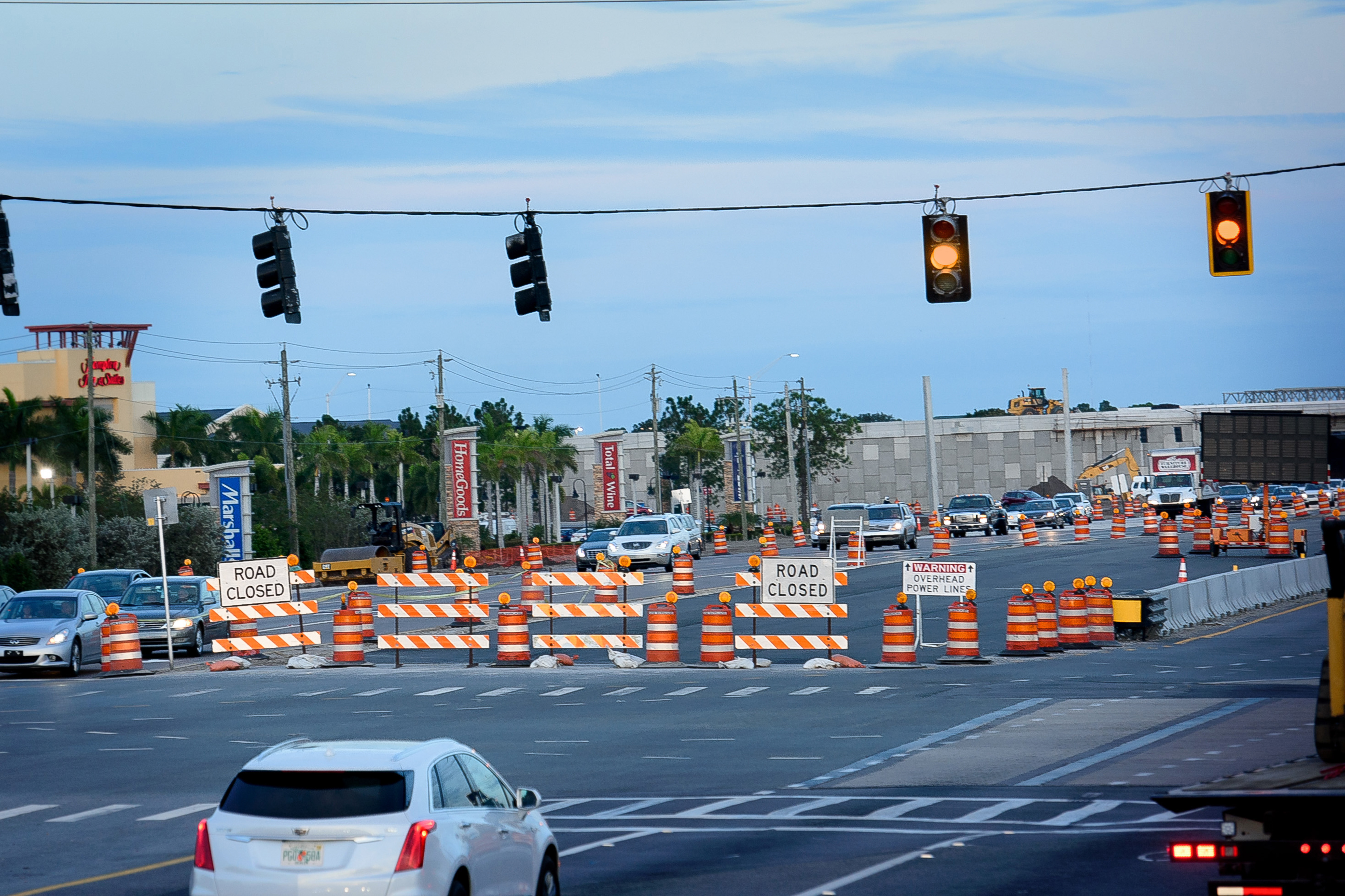 Traffic Light and Barricades