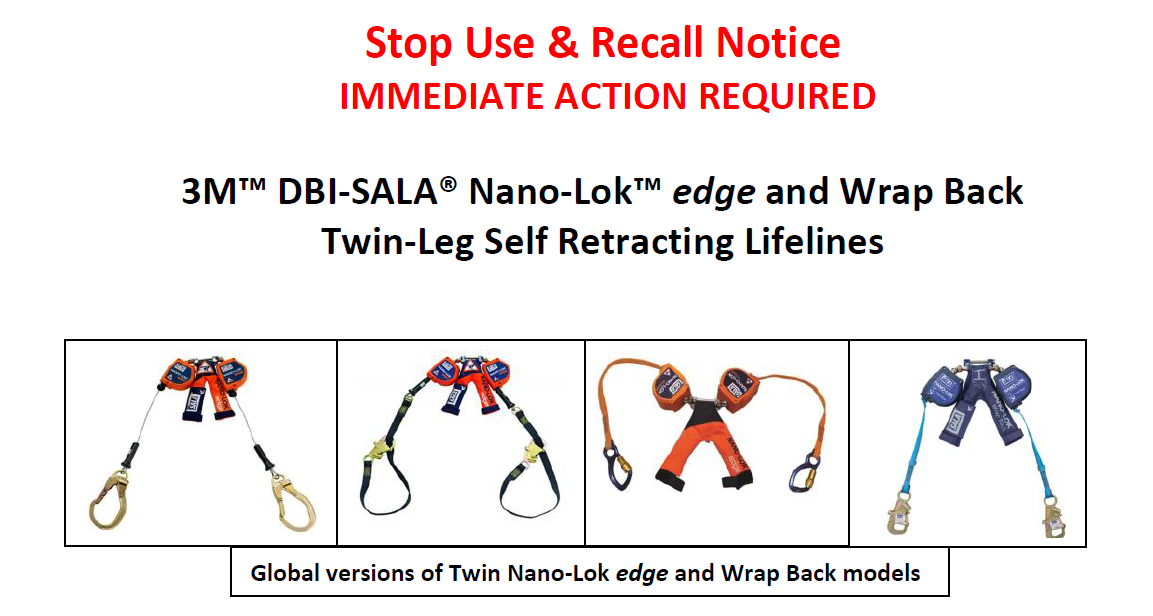 Stop Use and Recall Notice