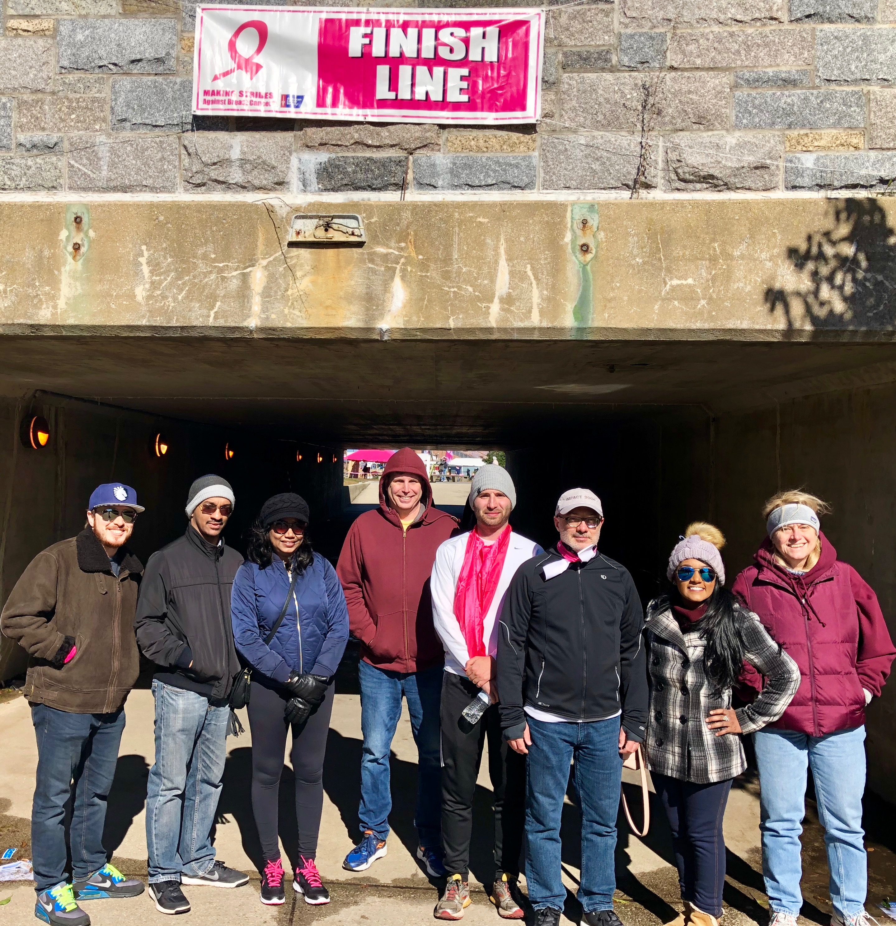 Paylogix Walks in Solidarity to Honor Breast Cancer Patients