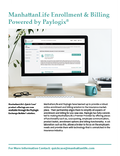 ManhattanLife Enrollment & Billing Powered by paylogix