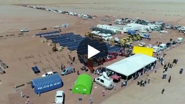 China invests in solar energy in Argentina (Video courtesy of CGTN)