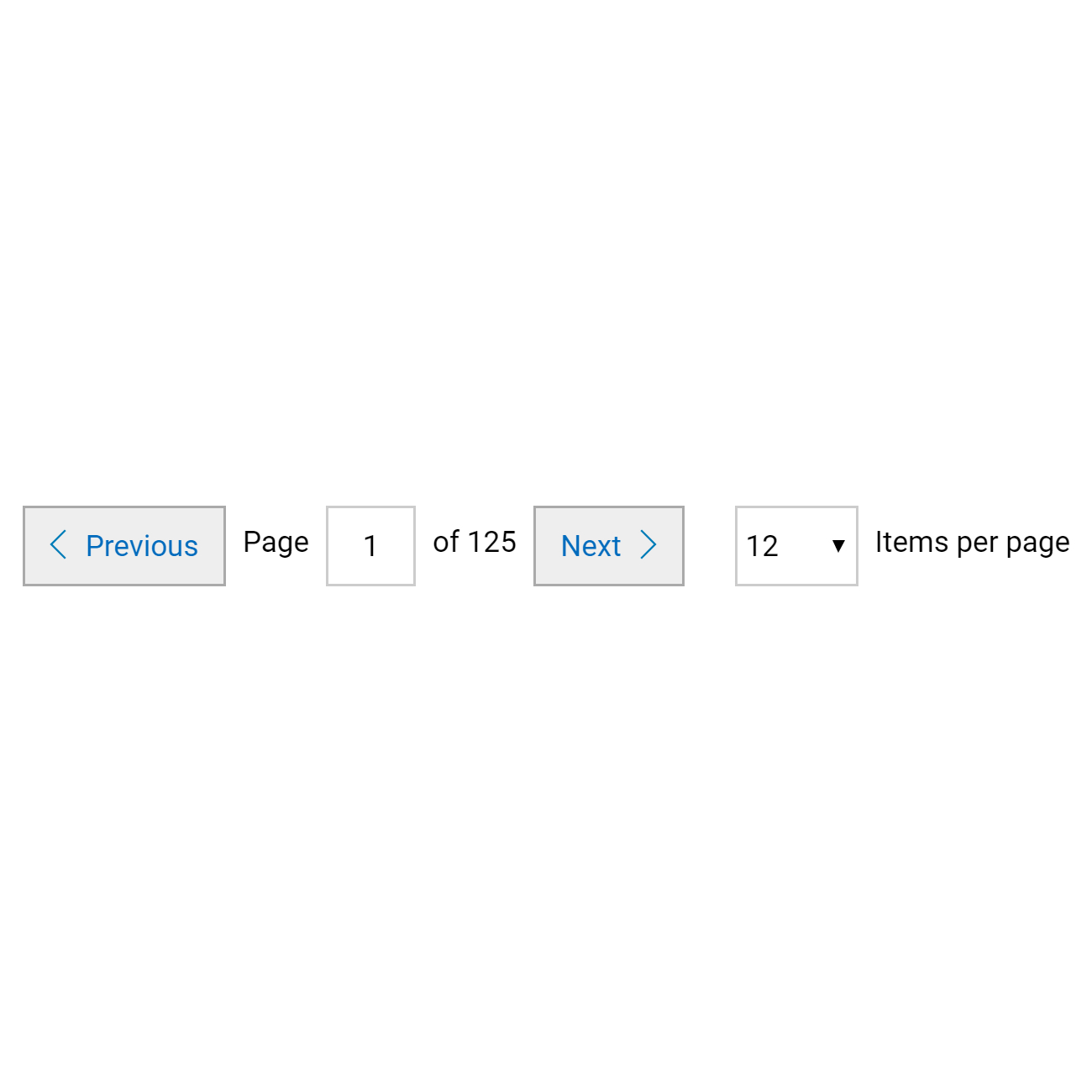 Pagination with Filtering