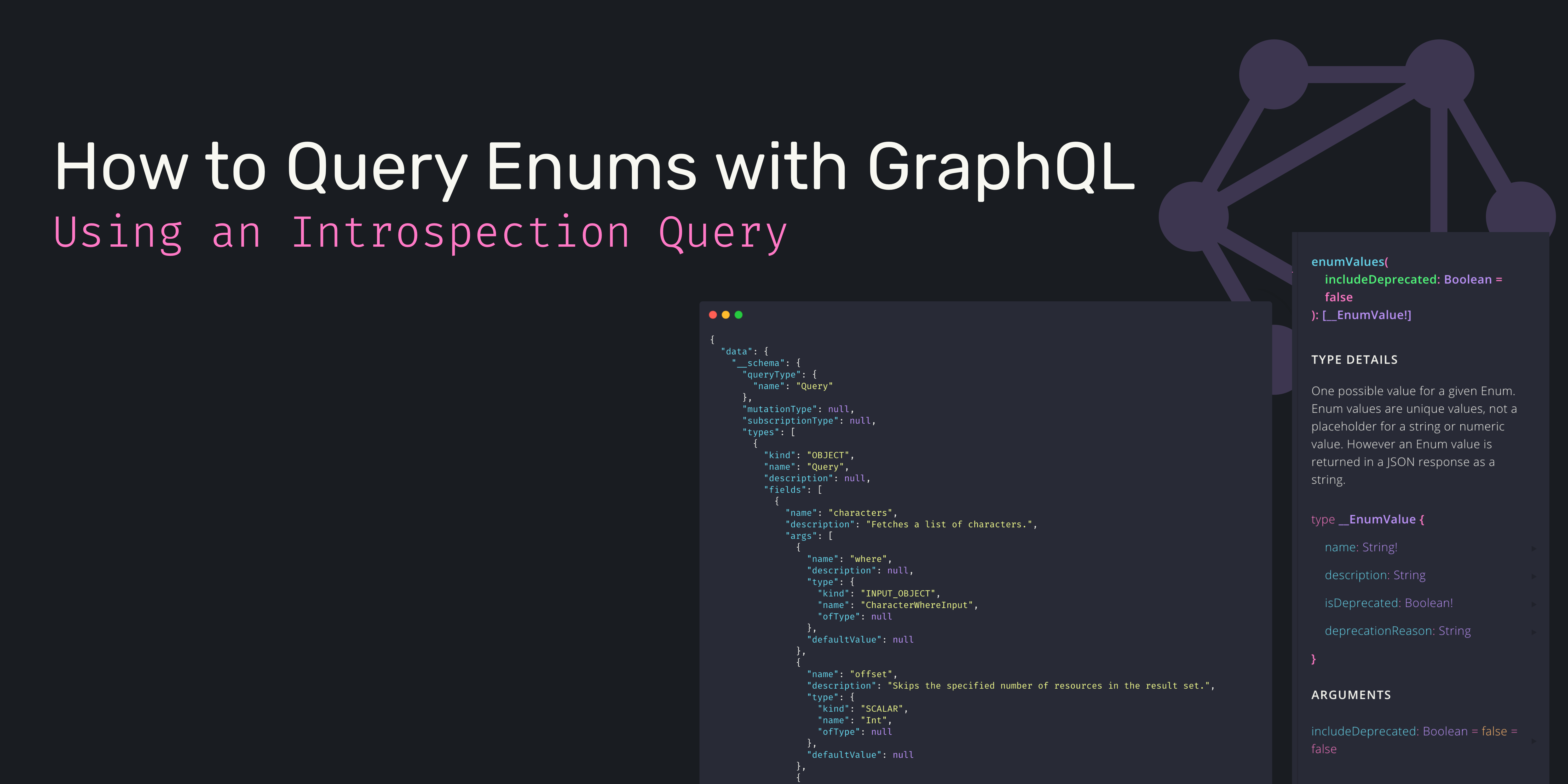 How to Query Enums with GraphQL using Introspection