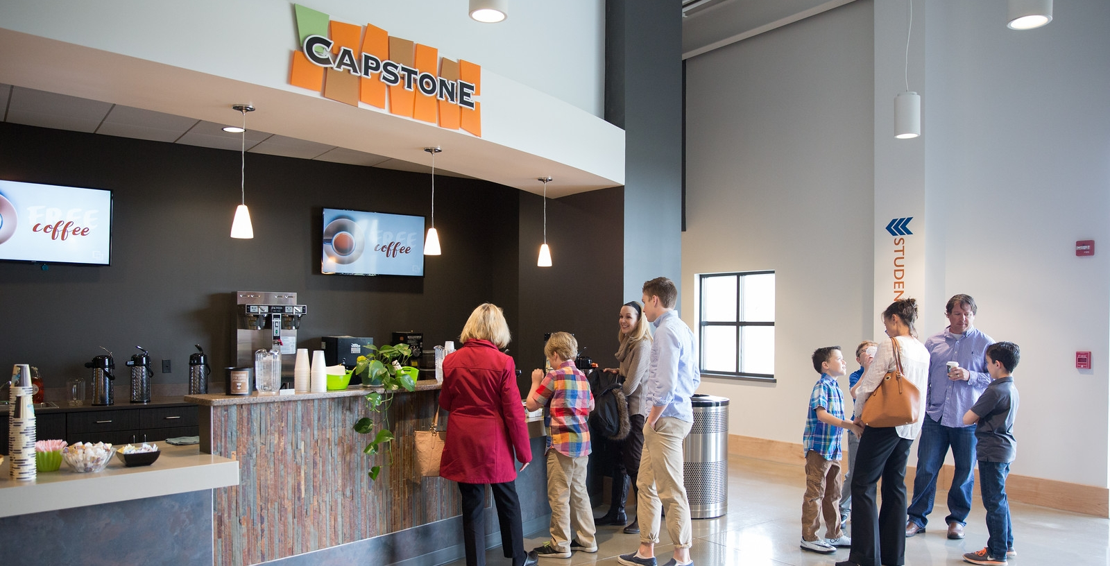 Northview's Fishers Campus Lobby