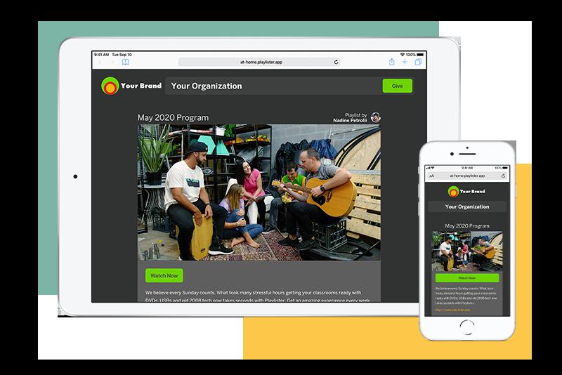 Playlister iPad app