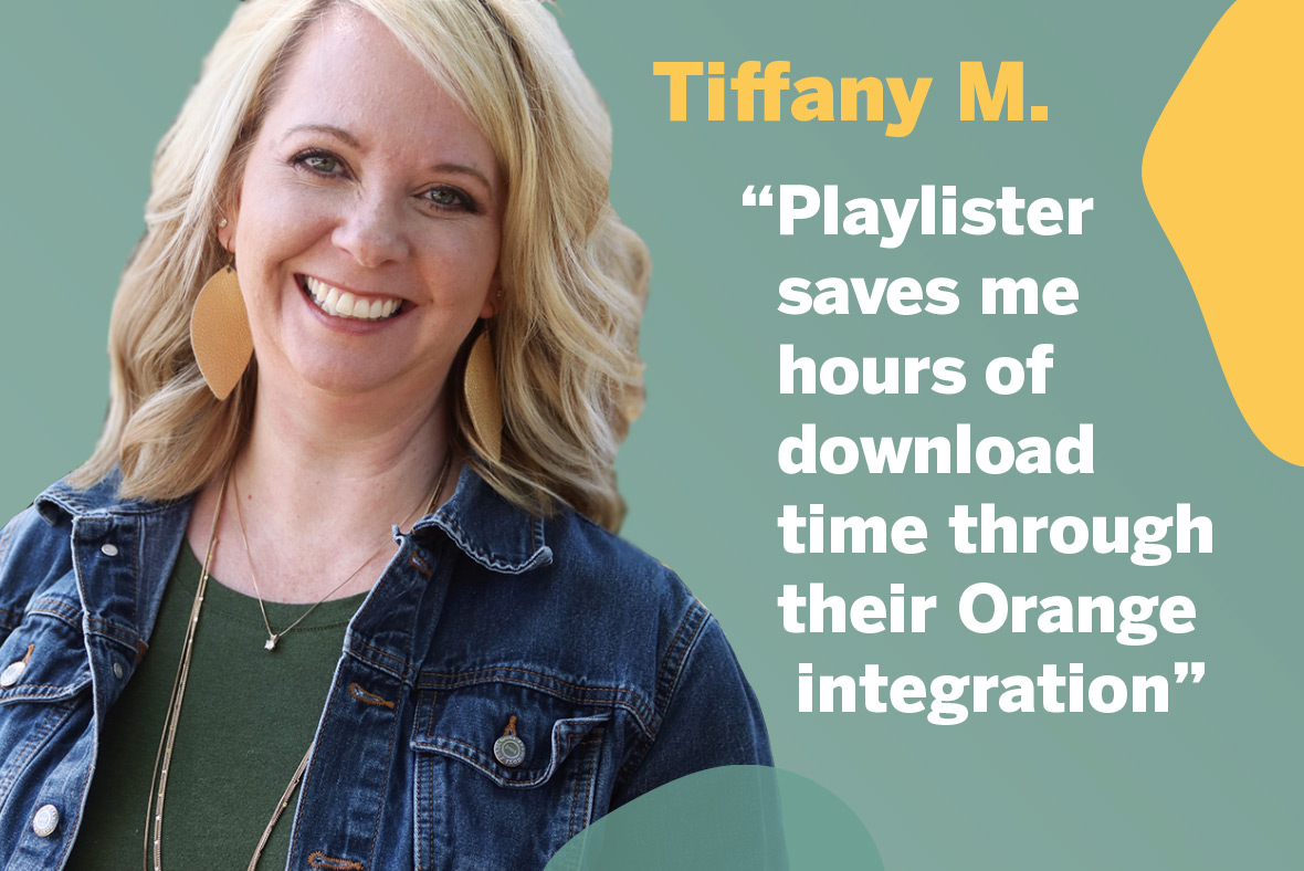 Playlister customer hero testimonial
