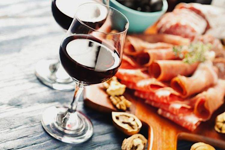Terrene Date Night for Valentine's Day with wine pairing