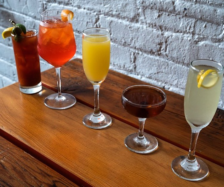 5 unique mixed drink options at Smallman Galley