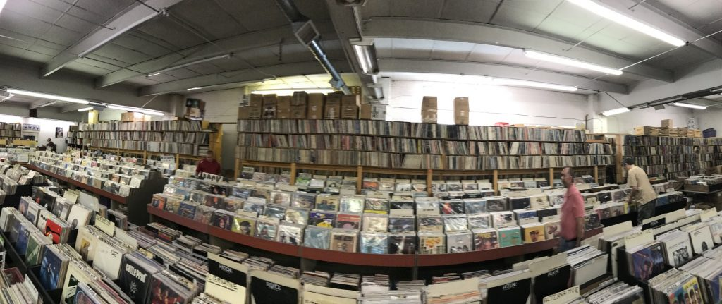 records for sale at Jerry's Records