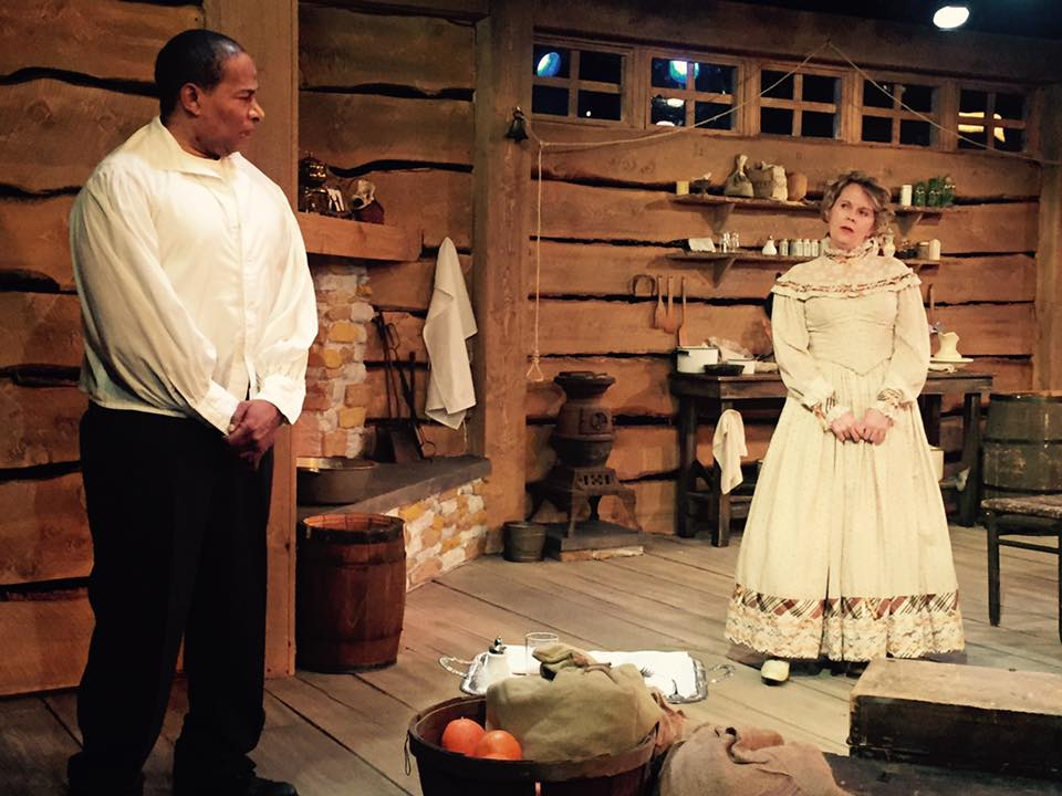 actors in play for Pittsburgh Playwrights theater company