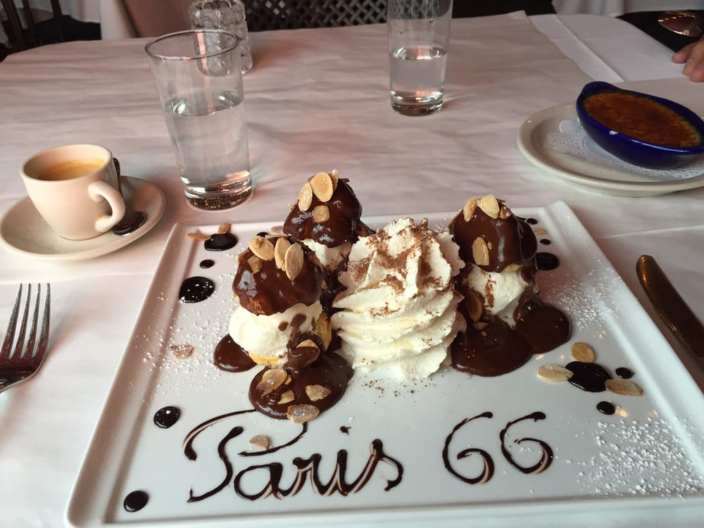 dessert at Paris 66