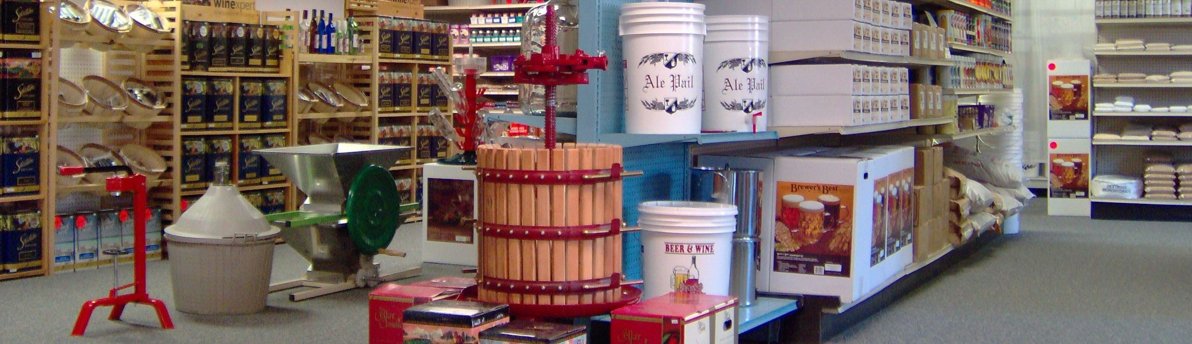 South Hills Brewing Kits and supplies for brewing at home