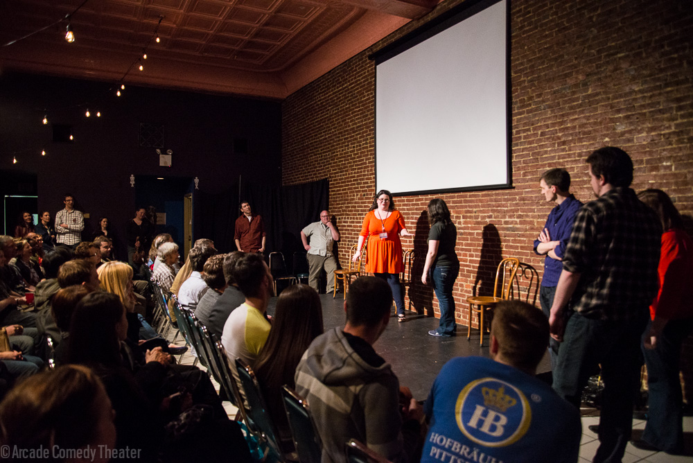 Arcade Comedy Theater improv performance