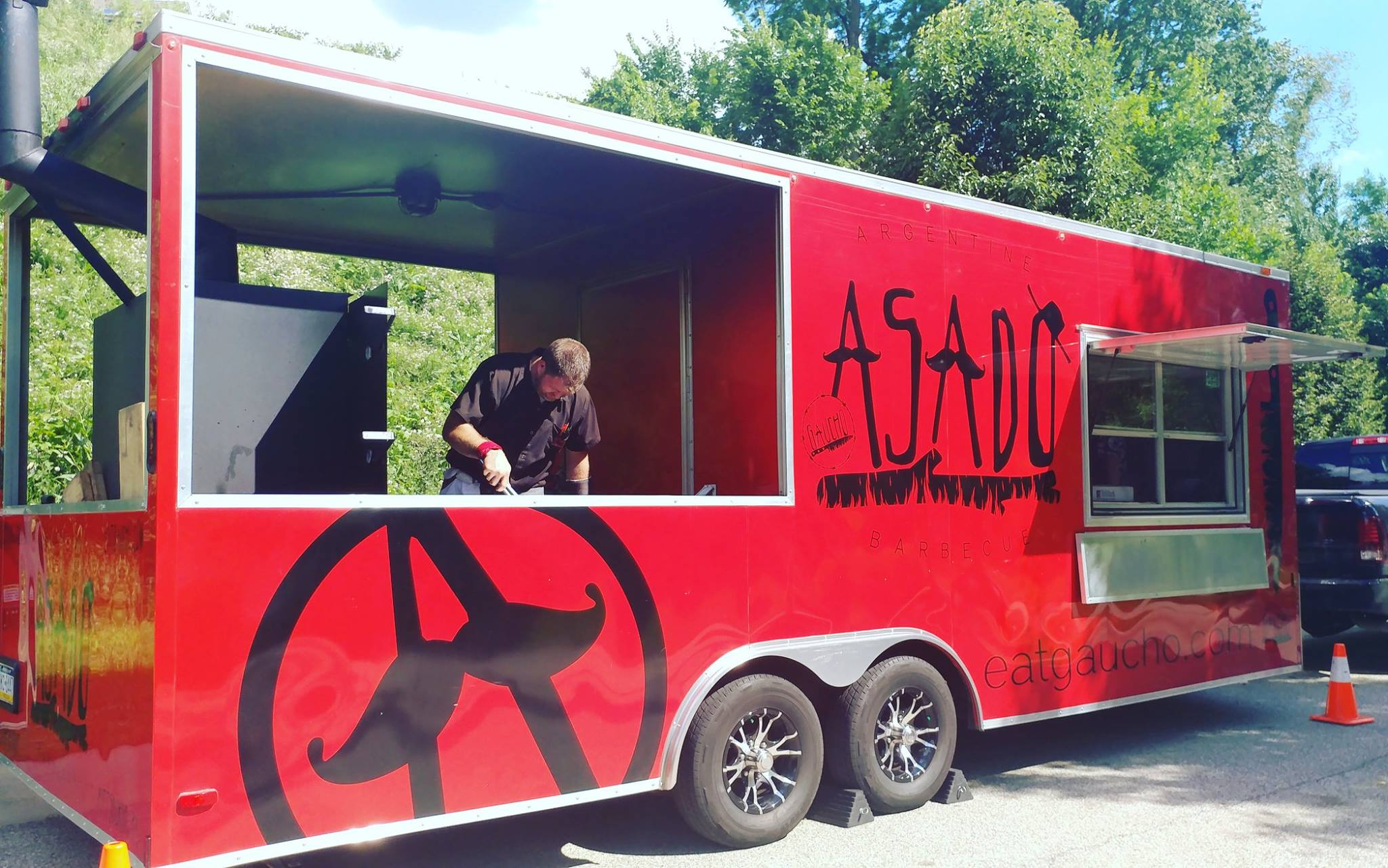 Asado Mobile Kitchen Truck