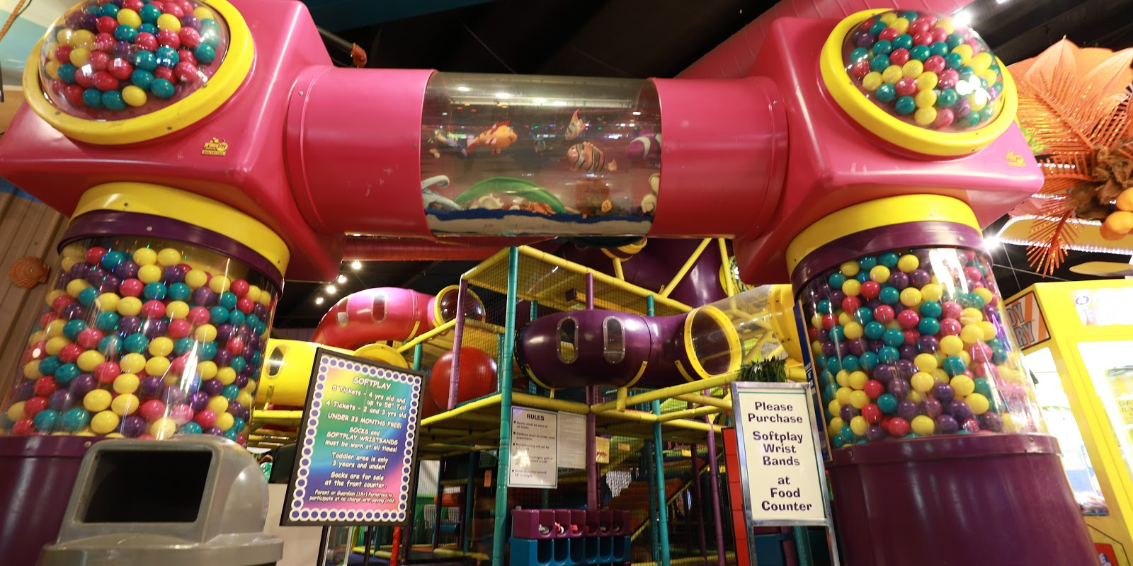 A giant play place at Wildwood Highlands is featured