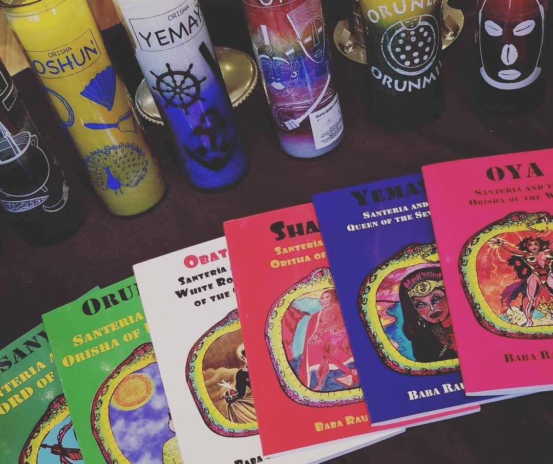 Metaphysical gifts at the Botanica Occult Shop