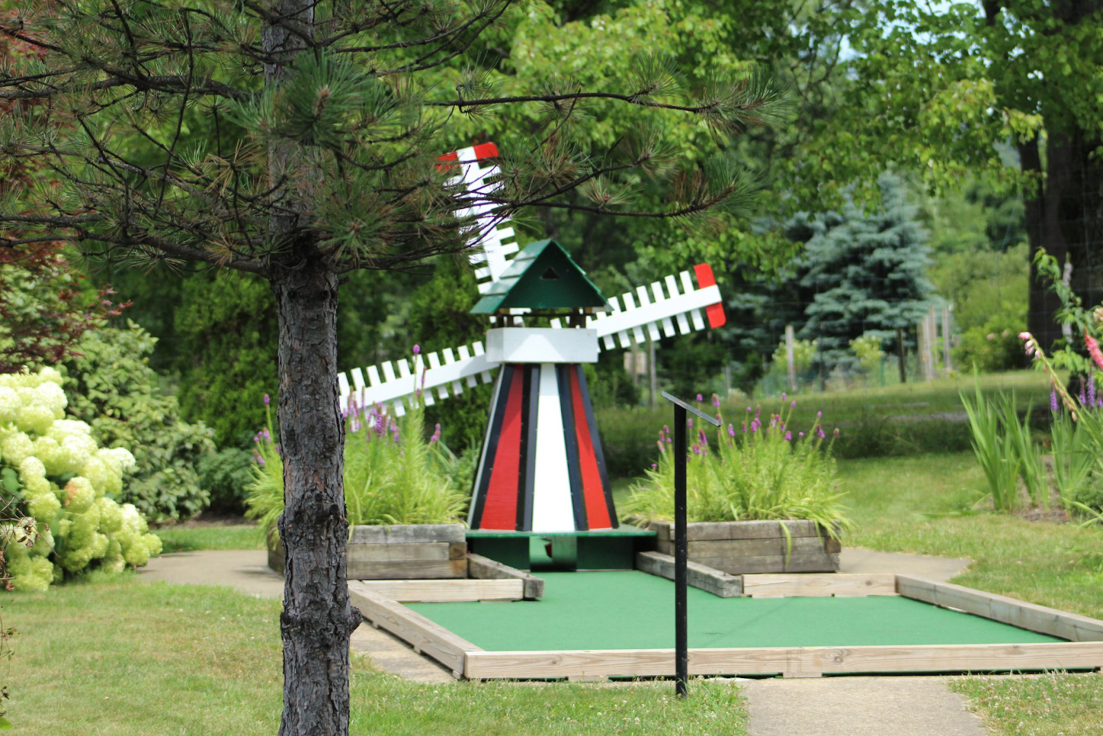 North Park mini golf