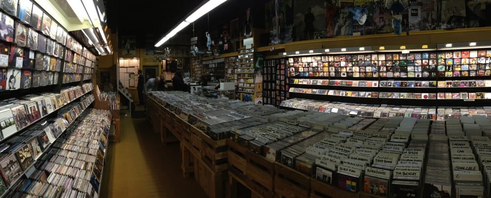 the main room of Juke Records