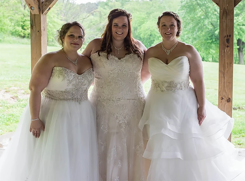 beautiful brides from Koda Bridal