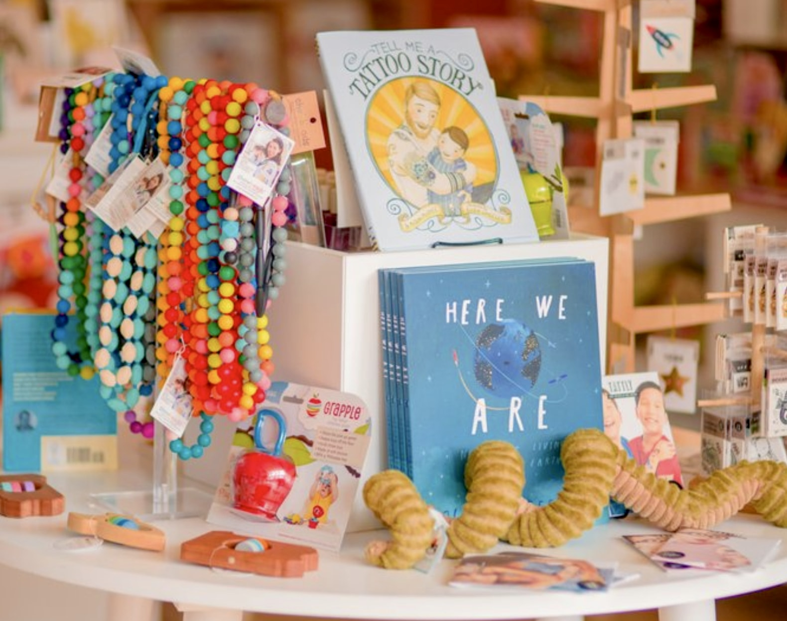books and things at Brambler Boutique