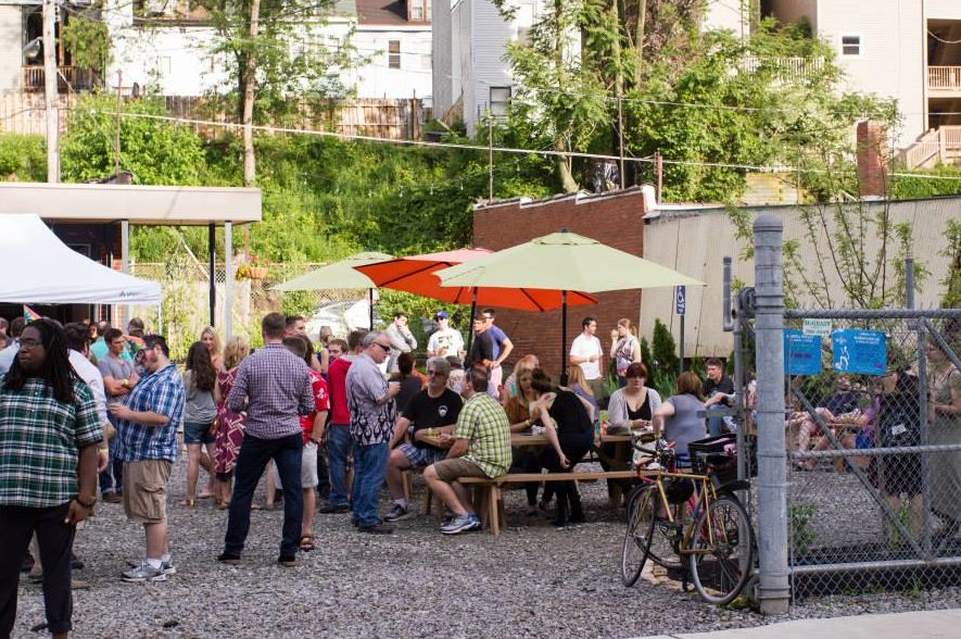 Wigle Whiskey Whiskey beer garden Pittsburgh