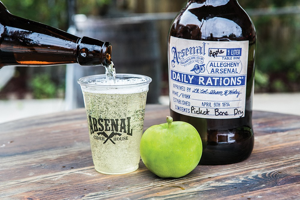 Arsenal Cider House outdoors