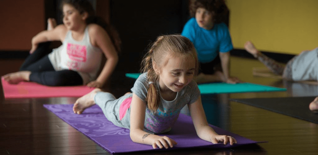 Kids yoga at Yoga Innovations