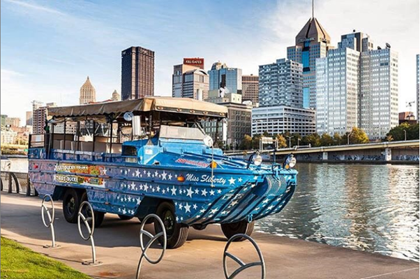 ducky tours of the pittsburgh rivers