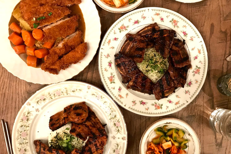 meal at soju korean pittsburgh