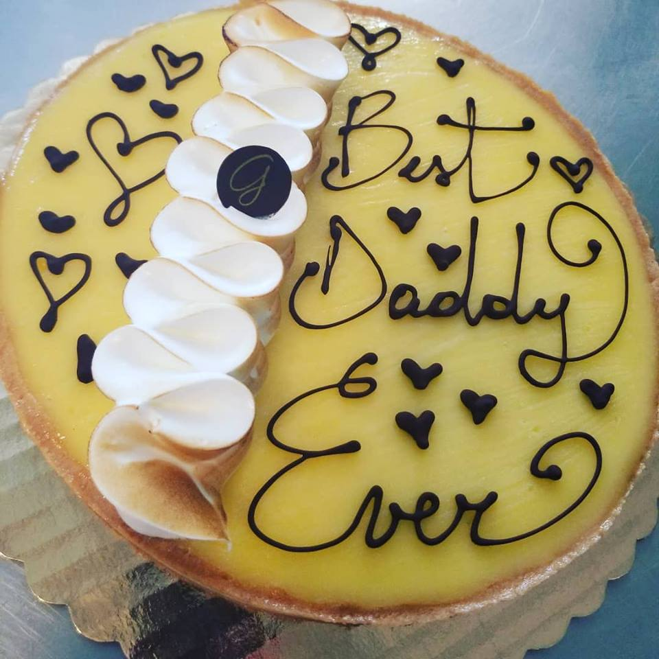 Fathers Day Cake from La Gourmandine Bakery