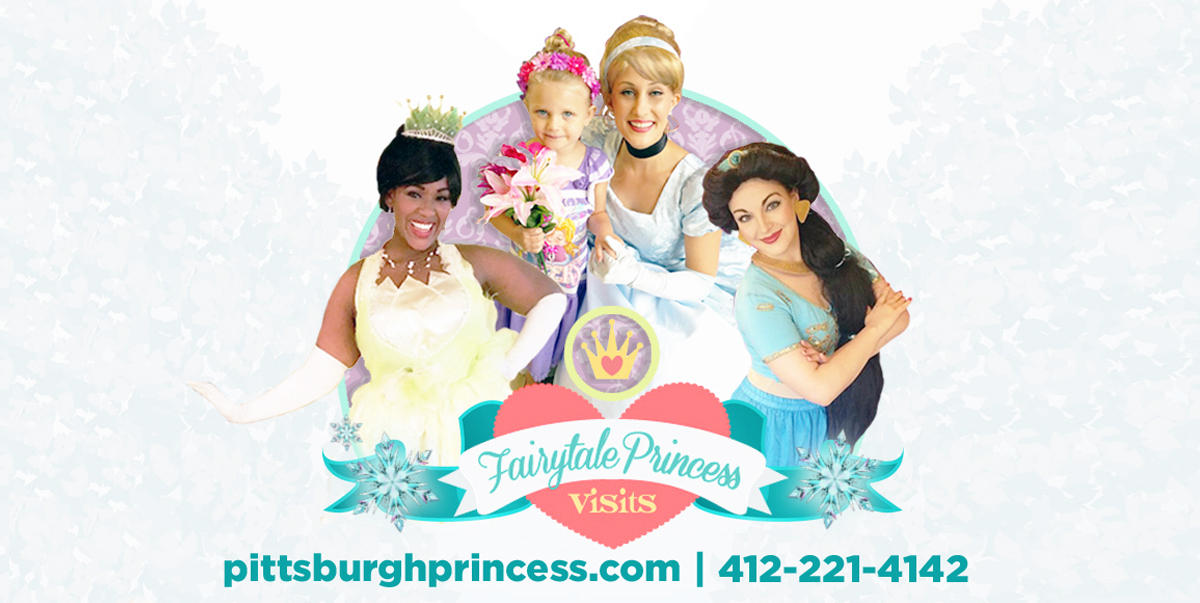 Fairytale Princess Visits in Pittsburgh