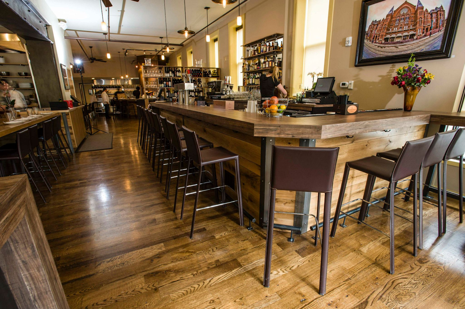 Zula Bistro is contemporary and classy!