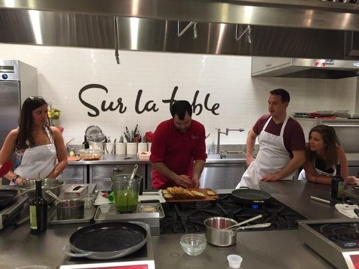 Image result for Sur la Table cooking class cincinnati