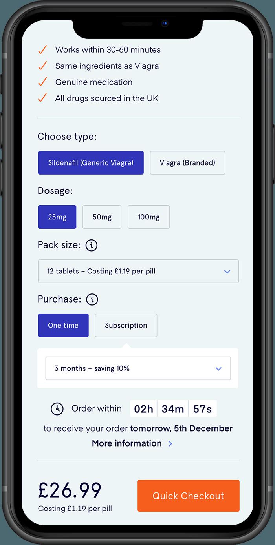 UK Meds Product Detail Mobile