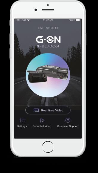 G-ON kamera do auta app