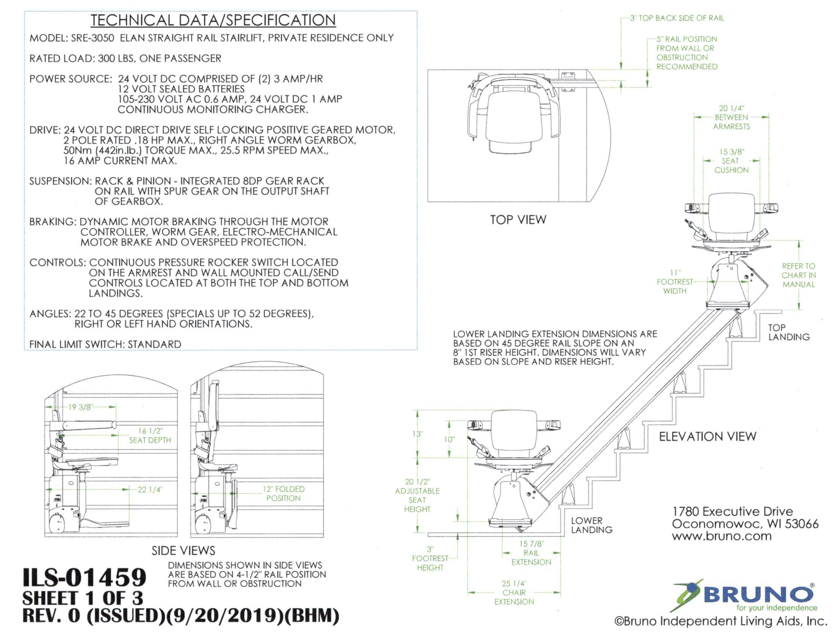 Download the Technical Specifications PDF
