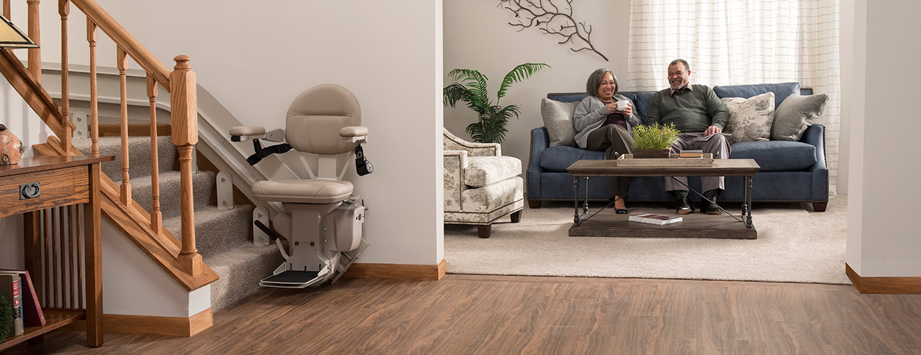 Bruno Elite CRE-2110Curved Stairlift